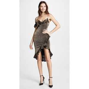NWT likely gold dress size 2